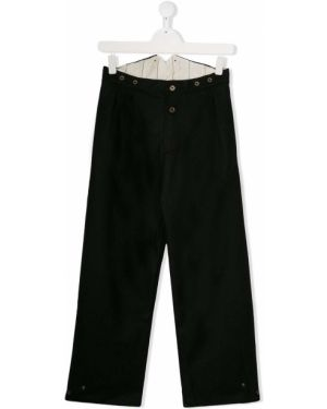 Czarne spodnie bawełniane Little Creative Factory Kids
