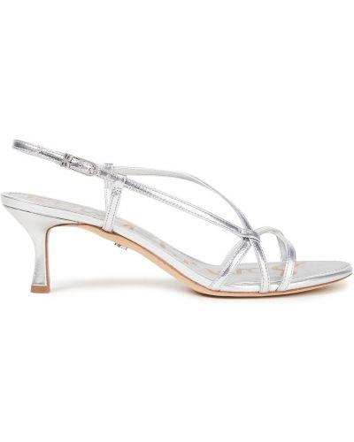 Sandały srebrne Sam Edelman