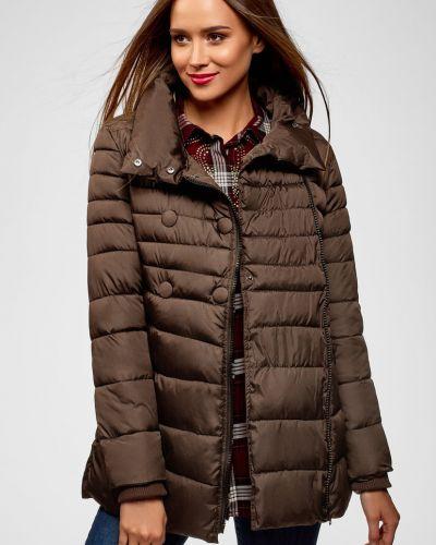 Куртка - коричневая Oodji