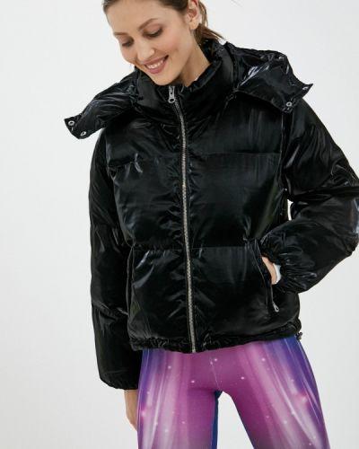 Черная утепленная куртка Boxeur Des Rues