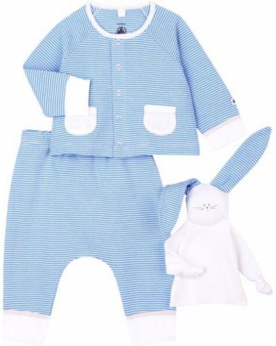 Niebieski garnitur Petit Bateau