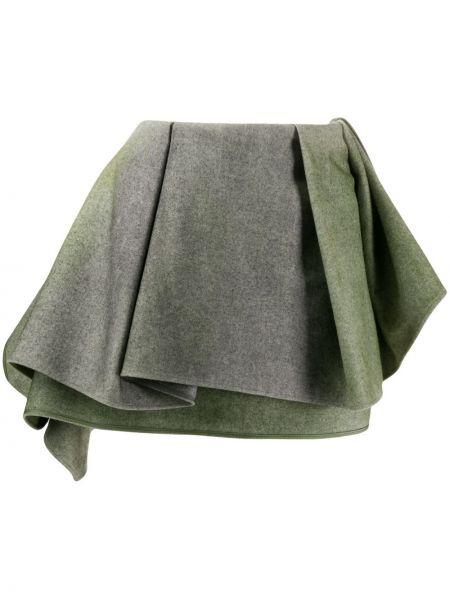 Юбка мини с завышенной талией с воланами Nina Ricci