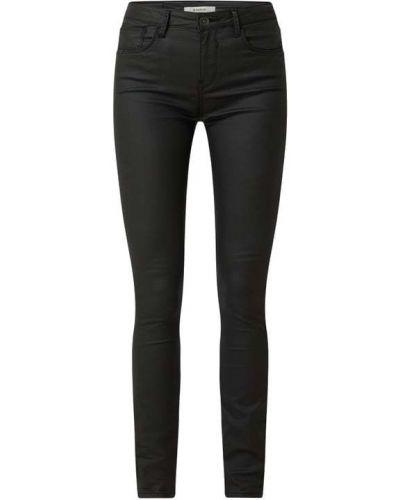 Mom jeans bawełniane - czarne Garcia