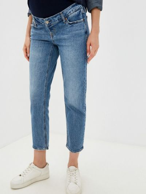 Синие зауженные джинсы Gap Maternity