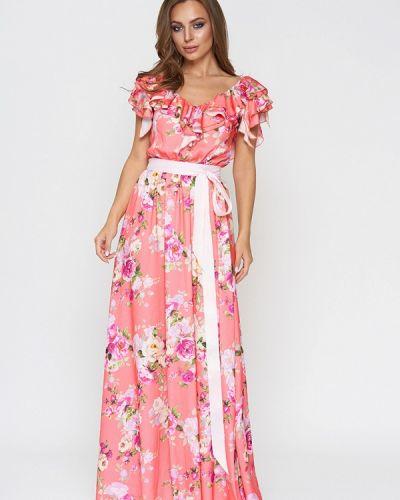 Коралловое платье Sellin