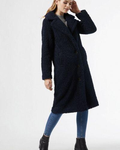 Синяя шуба Dorothy Perkins