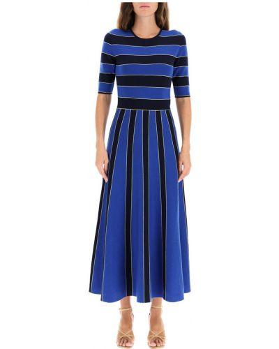 Niebieska z kaszmiru sukienka Gabriela Hearst