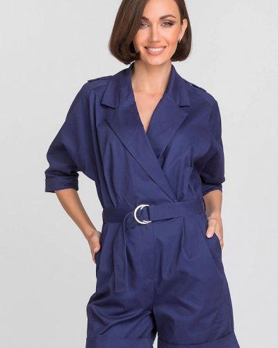 Комбинезон с шортами - синий Gloss