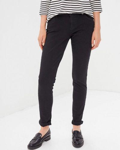 Черные зауженные брюки S.oliver