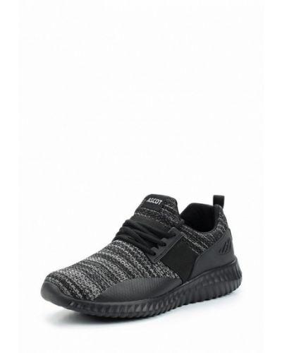 Черные кроссовки Ascot