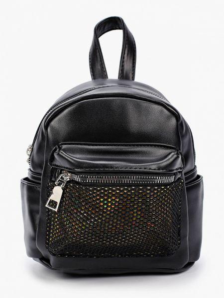 Городской черный рюкзак из искусственной кожи Elsi