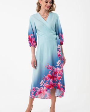 Летнее платье с запахом с V-образным вырезом Wisell