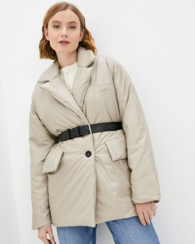 Коричневая зимняя куртка Fresh Cotton