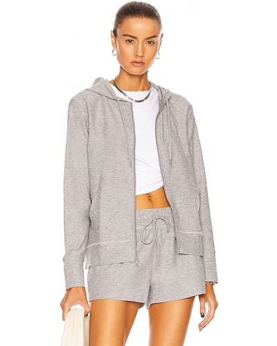Серебряная трикотажная куртка Beyond Yoga