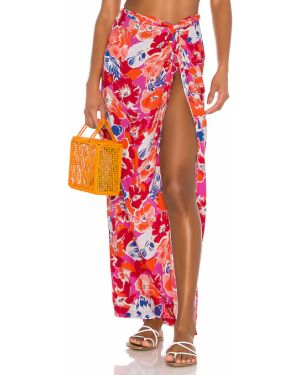 Różowa spódnica na plażę L*space