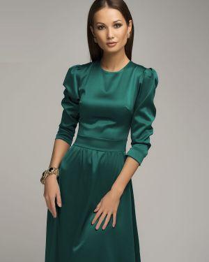 Вечернее платье макси с поясом 1001 Dress
