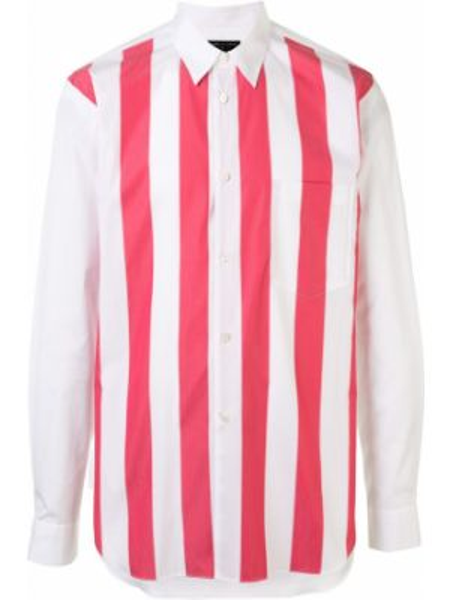 Koszula z długim rękawem klasyczna w paski Comme Des Garcons Homme Plus