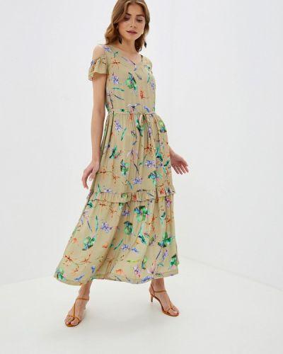 Платье весеннее прямое Helmidge