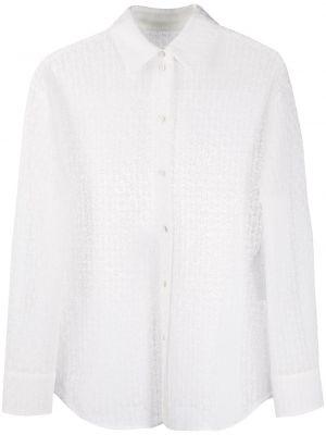 Длинная рубашка - белая Jil Sander