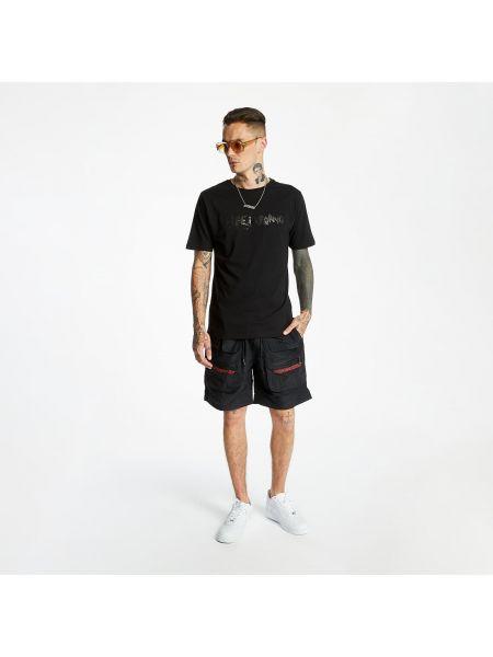 Czarny t-shirt Life Is Porno