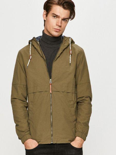 Хлопковая куртка с капюшоном с декоративной отделкой Jack & Jones