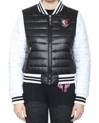 Куртка из полиэстера - черная Plein Sport