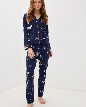 Пижама синий пижамный Women'secret