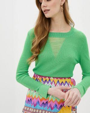 Зеленый свитер Sh