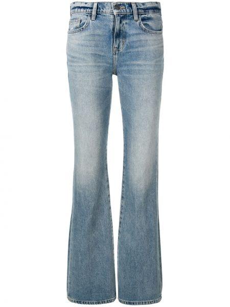 Расклешенные джинсы с низкой посадкой классические Current/elliott