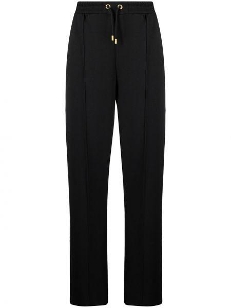 Черные брюки вельветовые с карманами Scotch & Soda