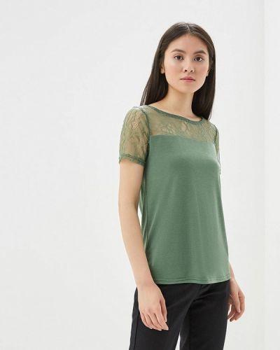 Зеленая футболка Vero Moda