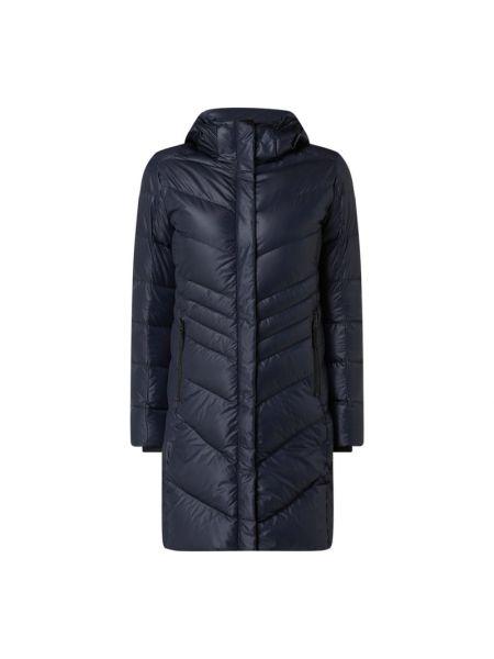 Niebieski płaszcz z kapturem Bogner Fire + Ice