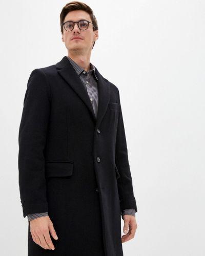 Синее демисезонное пальто Trussardi