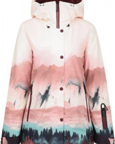 Утепленная розовая куртка на молнии Termit