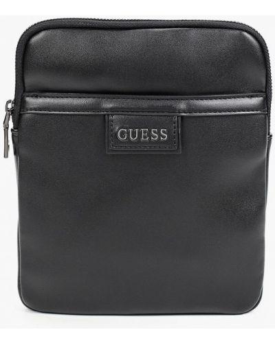 Черная сумка из полиуретана Guess