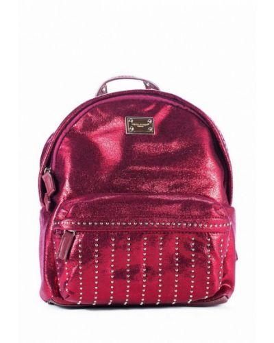 Кожаный рюкзак - розовый David Jones