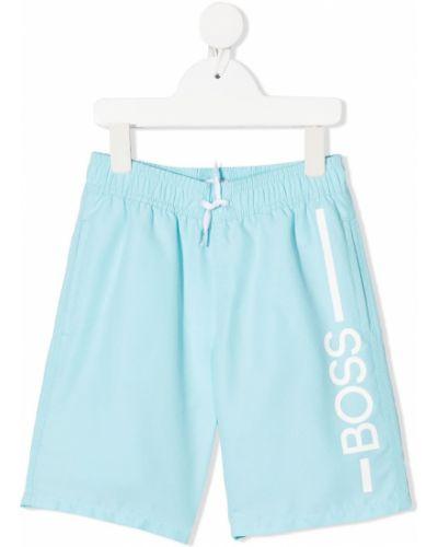 Kąpielówki - białe Boss Kidswear