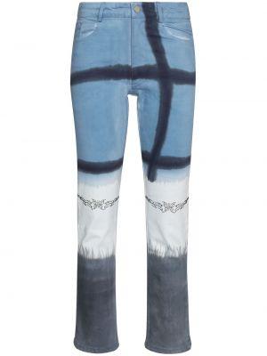 Klasyczne mom jeans - niebieskie Collina Strada