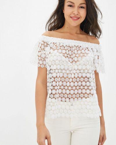 Блузка кружевная белая Deseo