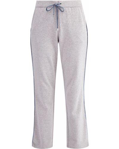Укороченные брюки кашемировые бархатные Capobianco