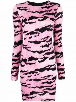 Платье макси длинное - розовое Just Cavalli