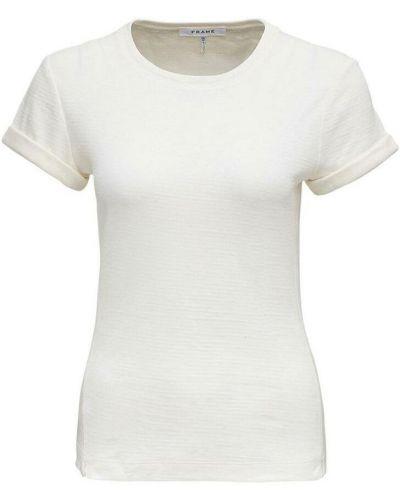 Biała t-shirt Frame