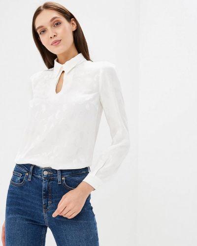 Белая блузка с длинным рукавом Gregory