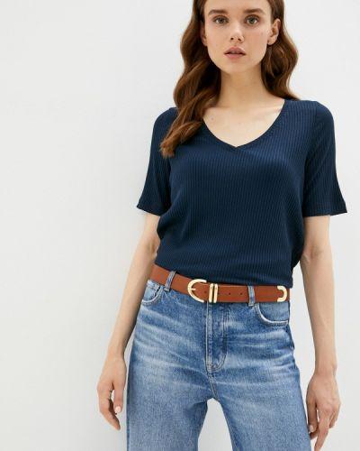 Синяя весенняя футболка Helmidge