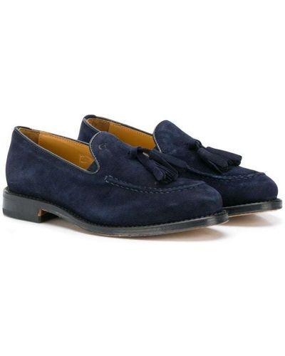 Лоферы синий для обуви Gallucci Kids