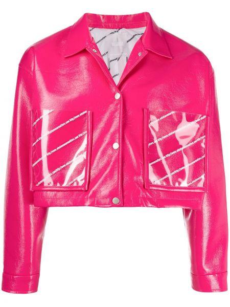 Розовая куртка Wwwm