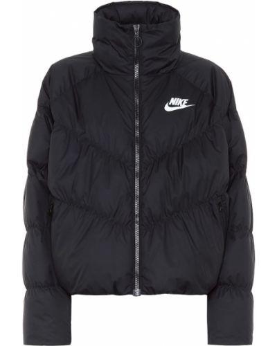 Куртка черная облегченная Nike