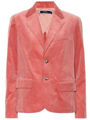Пиджак вельветовый розовый Polo Ralph Lauren