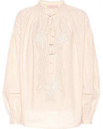 Блузка с пышными рукавами батник Tory Burch