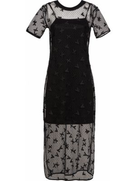 Платье с подкладкой - черное Armani Exchange